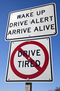 Don't drive tired