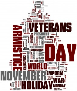 Today we remember and recognize the dedication of our military service men and women.